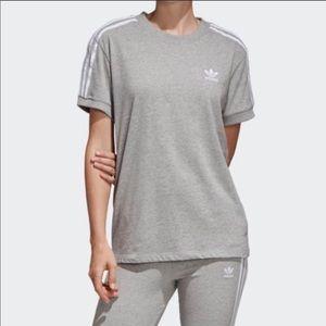 Adidas grey shirt